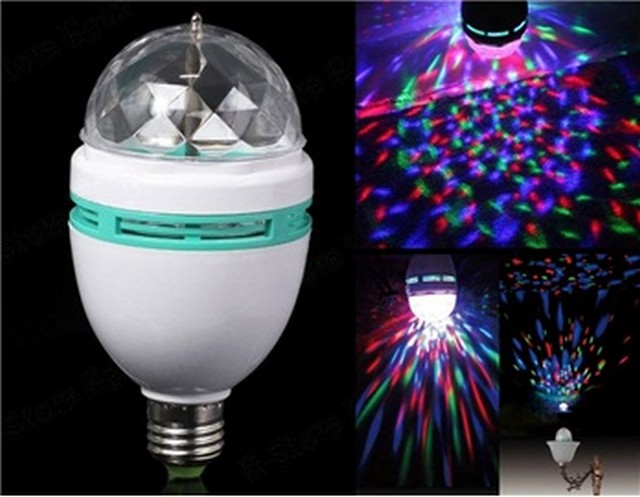 Disco LED žárovka